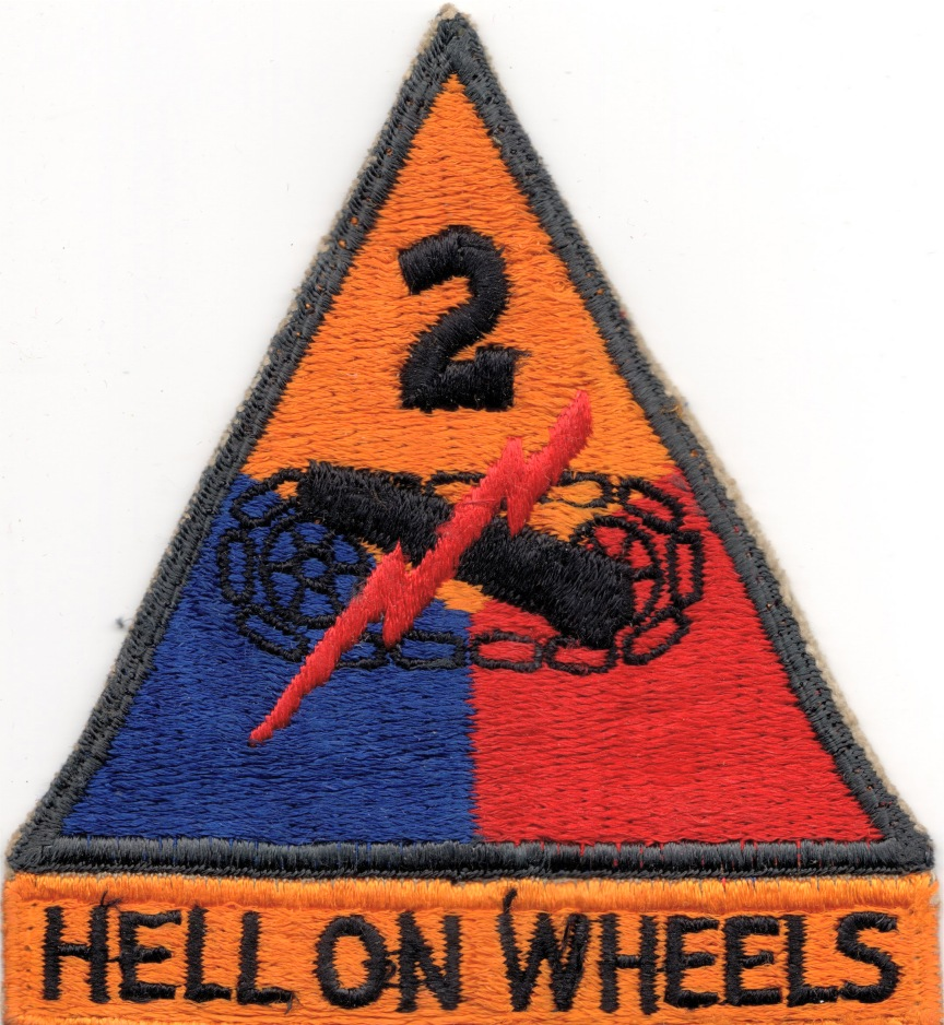 3rd Armored Division Patch 2nd Armored Division Patch